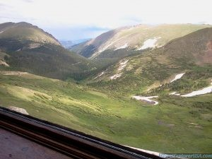 View from Alpine Visitor Center Rocky Mountain National Park