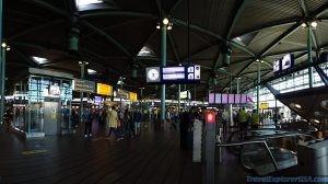 Schiphol Train Hub Amsterdam