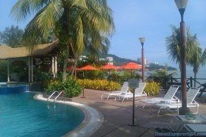 flamingo hotel pool malaysia penang