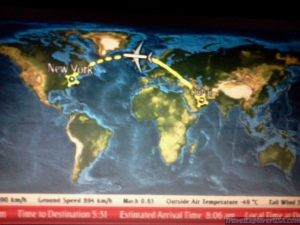 New York to Dubai