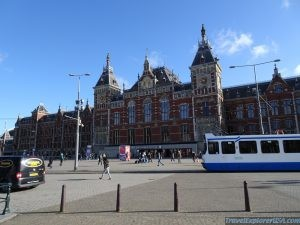 Amsterdam Centraal Train Station Netherlands