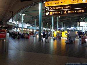 Amsterdam Schiphol Railway Station