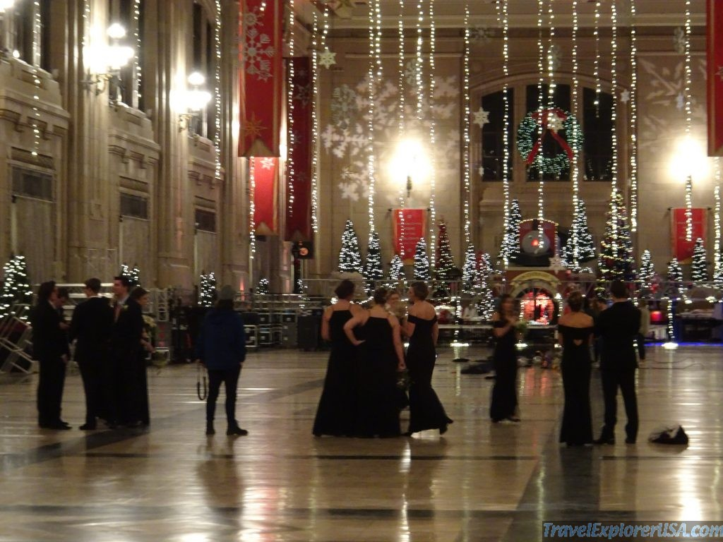 Christmas Wedding at Kansas City Union Station