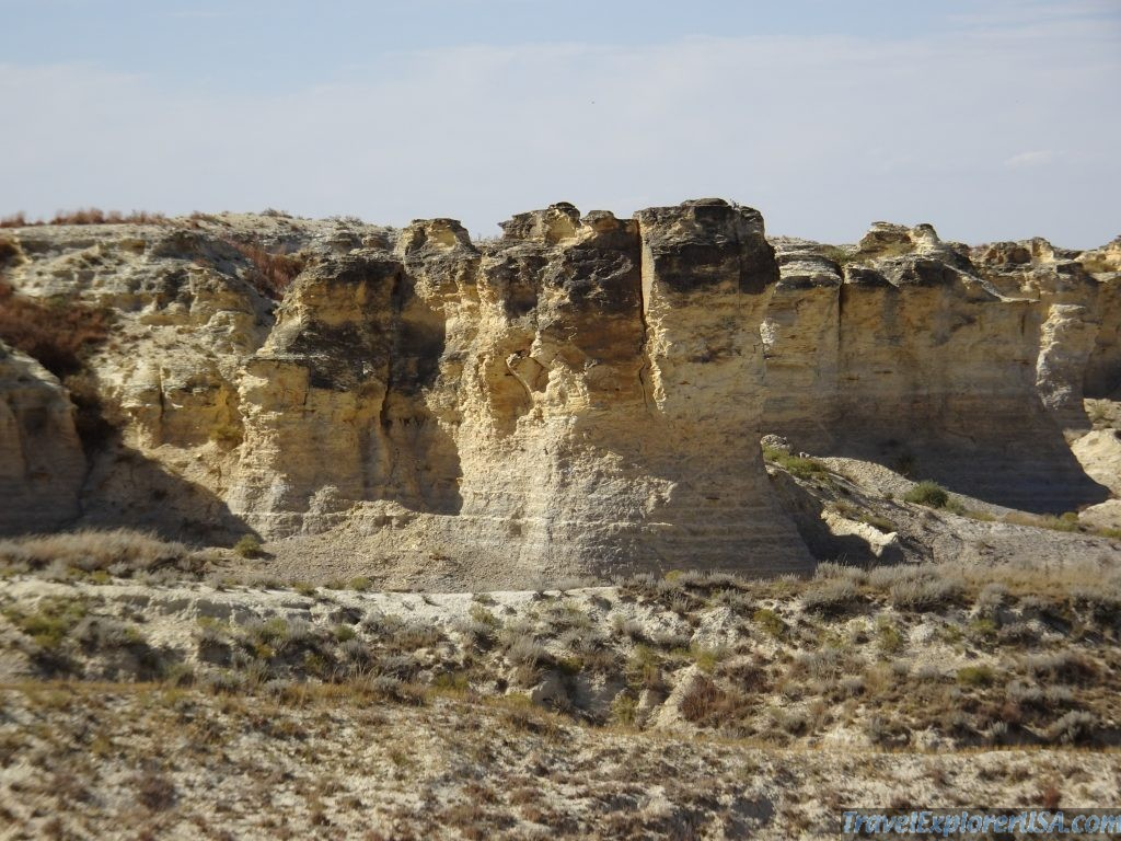 Little Jerusalem Badlands Kansas USA