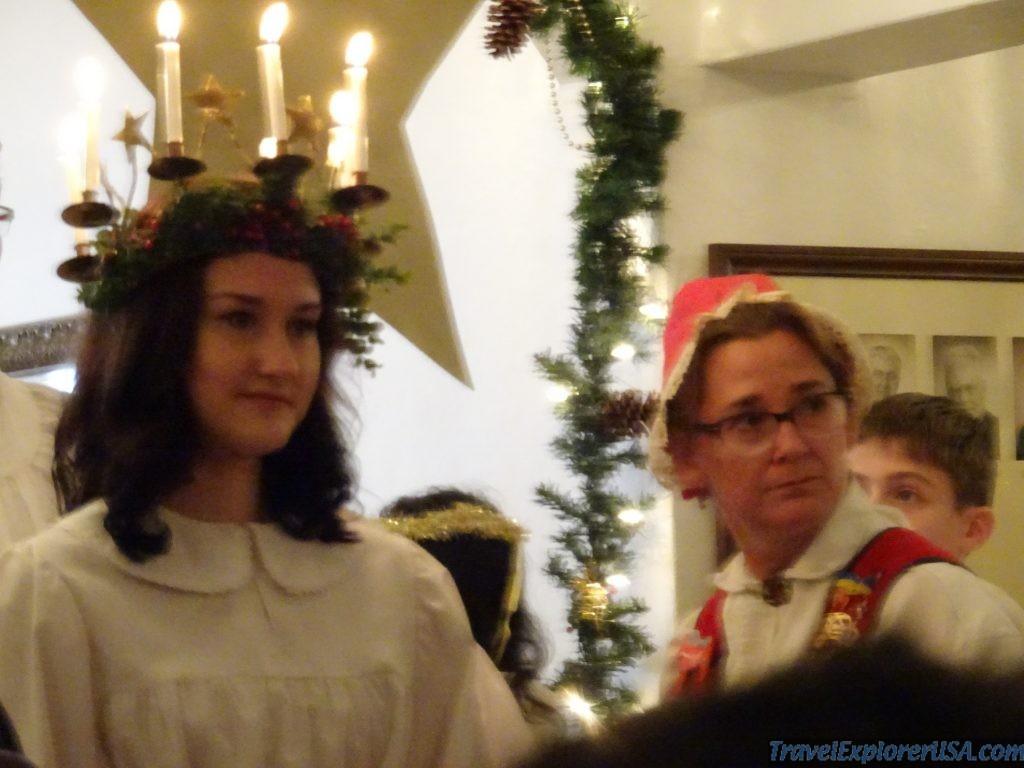 St Lucia Christmas Bethany Lutheran Lindsborg USA
