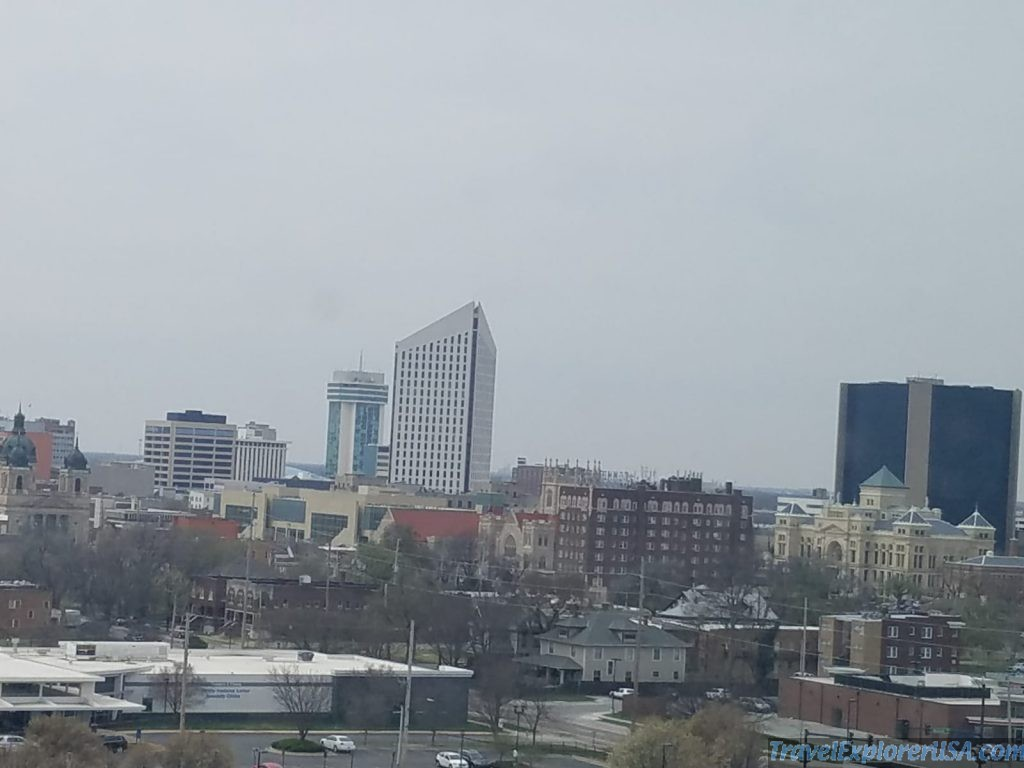 Downtown Wichita Kansas USA
