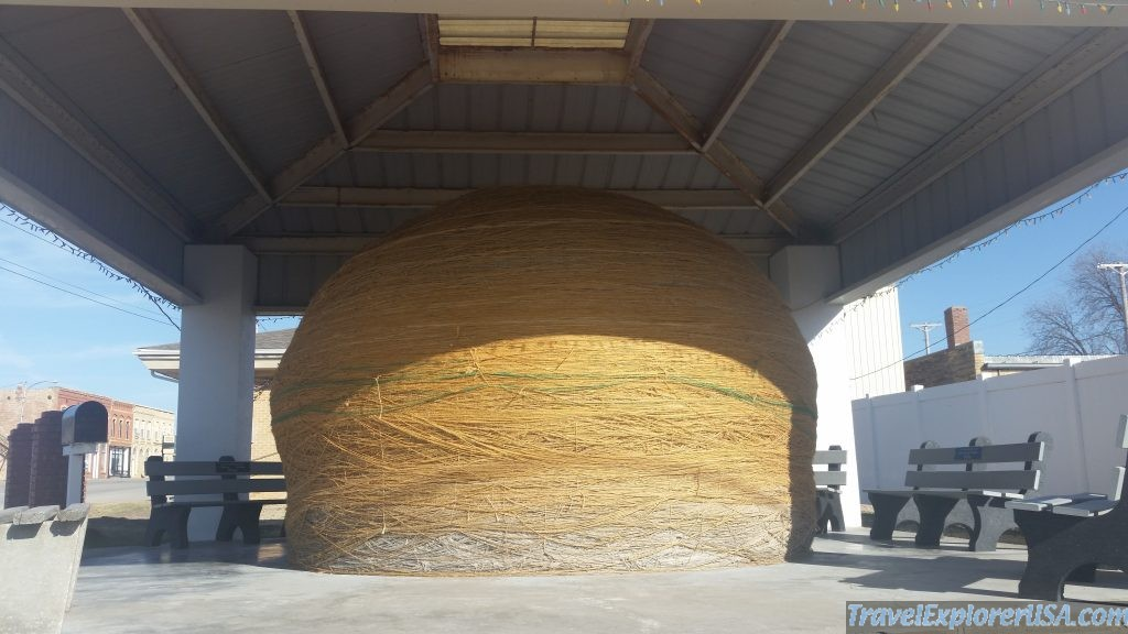 World's Largest Ball of Twine, Cawker City, Kansas, USA